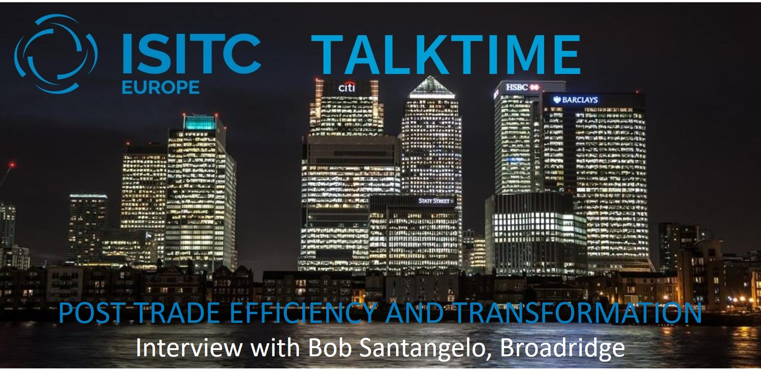 Post Trade Efficiency and Transformation