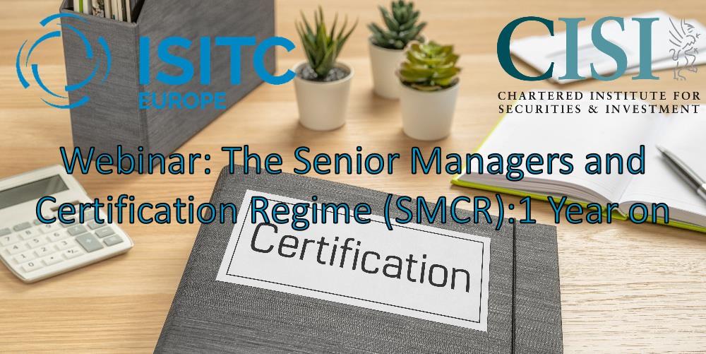 SMCR 1 year on