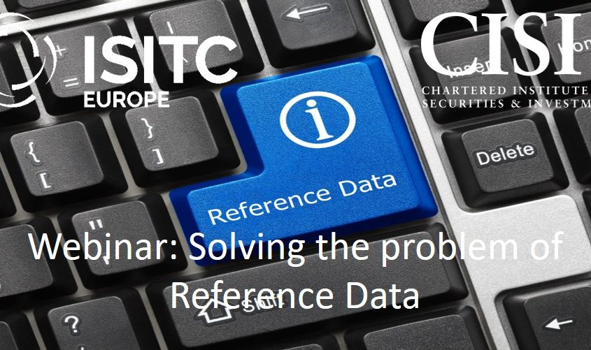 Solving the problem of reference data webinar recording