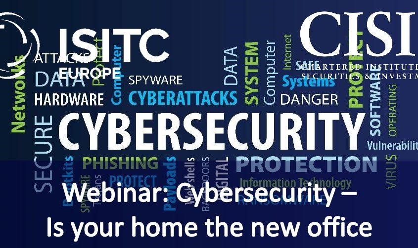 Cybersecurity:Home Office Webinar Recording