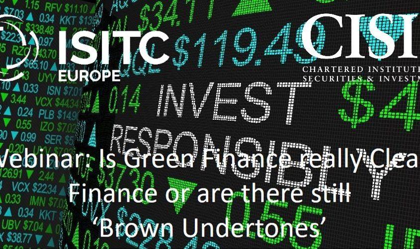 Is green finance